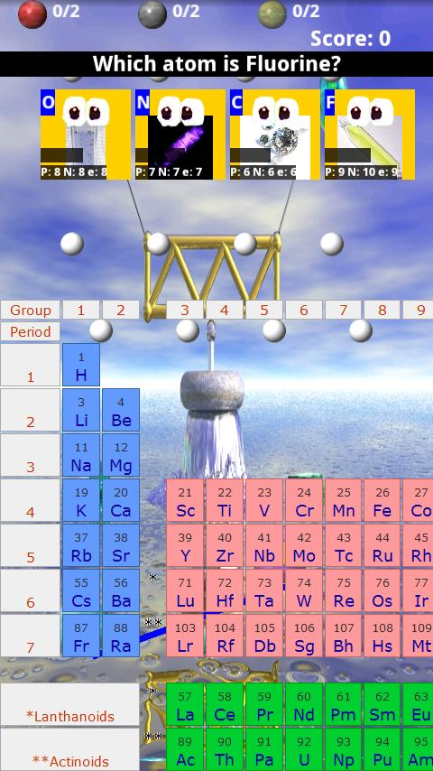 Kid's Atom Balance HD- screenshot