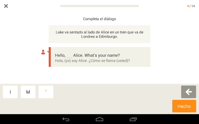 android Apprendre l'anglais - Babbel Screenshot 8