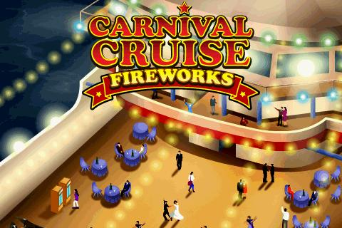 Carnival Cruise Fireworks - screenshot