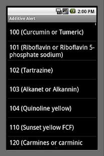 Additive Alert- screenshot thumbnail