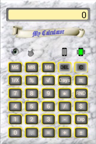 BrownPaper Calculator P