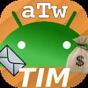 AndroTimWidget Lite via sms logo