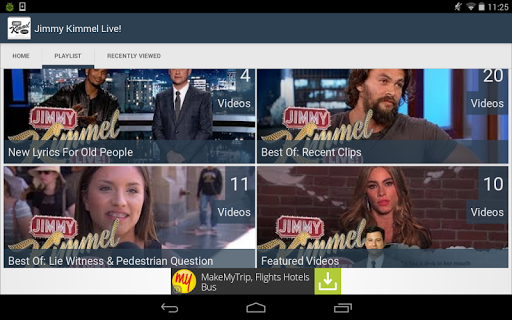【免費媒體與影片App】Jimmy Kimmel Live !-APP點子