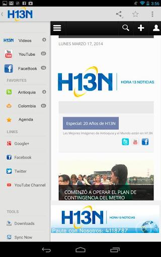 H13N antigua Versión