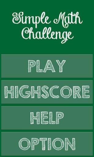 【免費教育App】Simple Math Challenge-APP點子