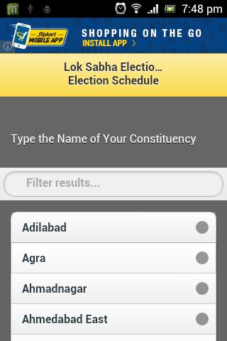 Lok Sabha Election 2014 Dates