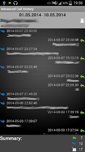 Advanced Call History - screenshot thumbnail