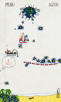 Screenshot of Doodle Invasion Free