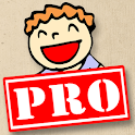 chistes cortos PRO logo
