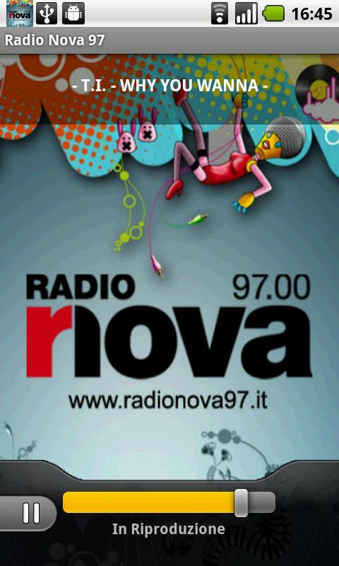 Radio Nova 97- screenshot