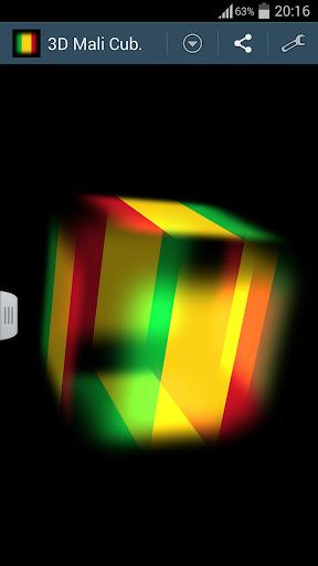 3D Mali Cube Flag LWP