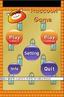 Screenshot of Raccoon Game