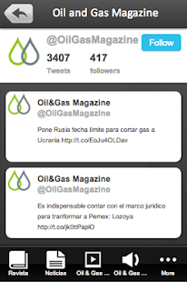 Oil and Gas Magazine- screenshot thumbnail