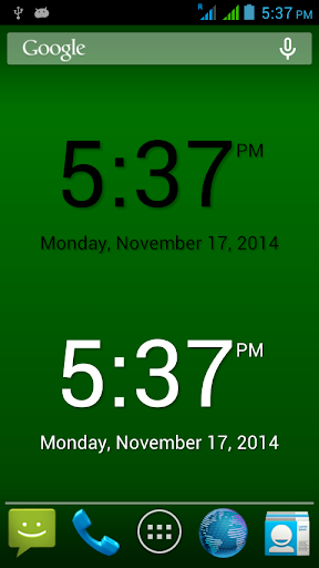Clock Widget Plus-7
