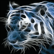 Glowing Tiger Live Wallpaper