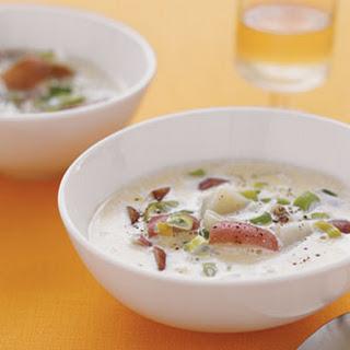 Scallion and Potato Soup.