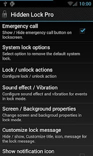 Hidden Lock Pro - screenshot thumbnail