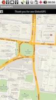 Screenshot of GPS MAP (Light)
