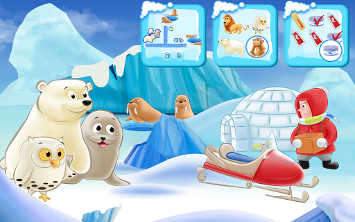 【免費教育App】Polar Bear Cub for kids 3-5-APP點子