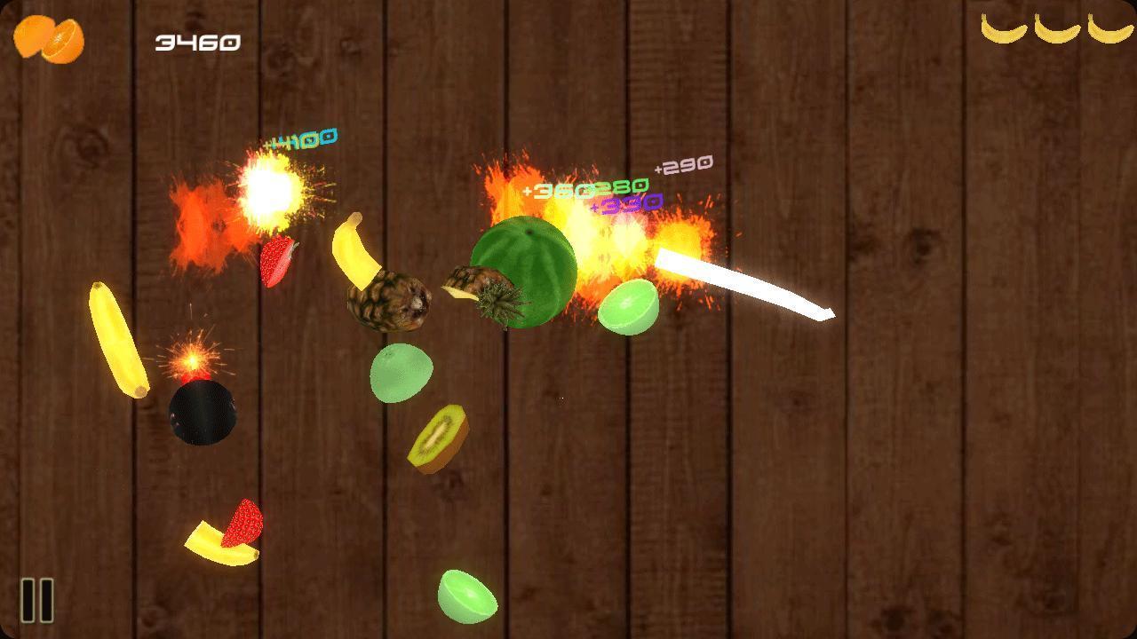 Ninja fruit cut - Fruit Kongfu Screenshot