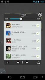 TSF Music Widget Screenshot 3