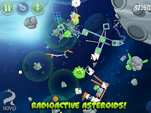Angry Birds Space HD Screenshot 2