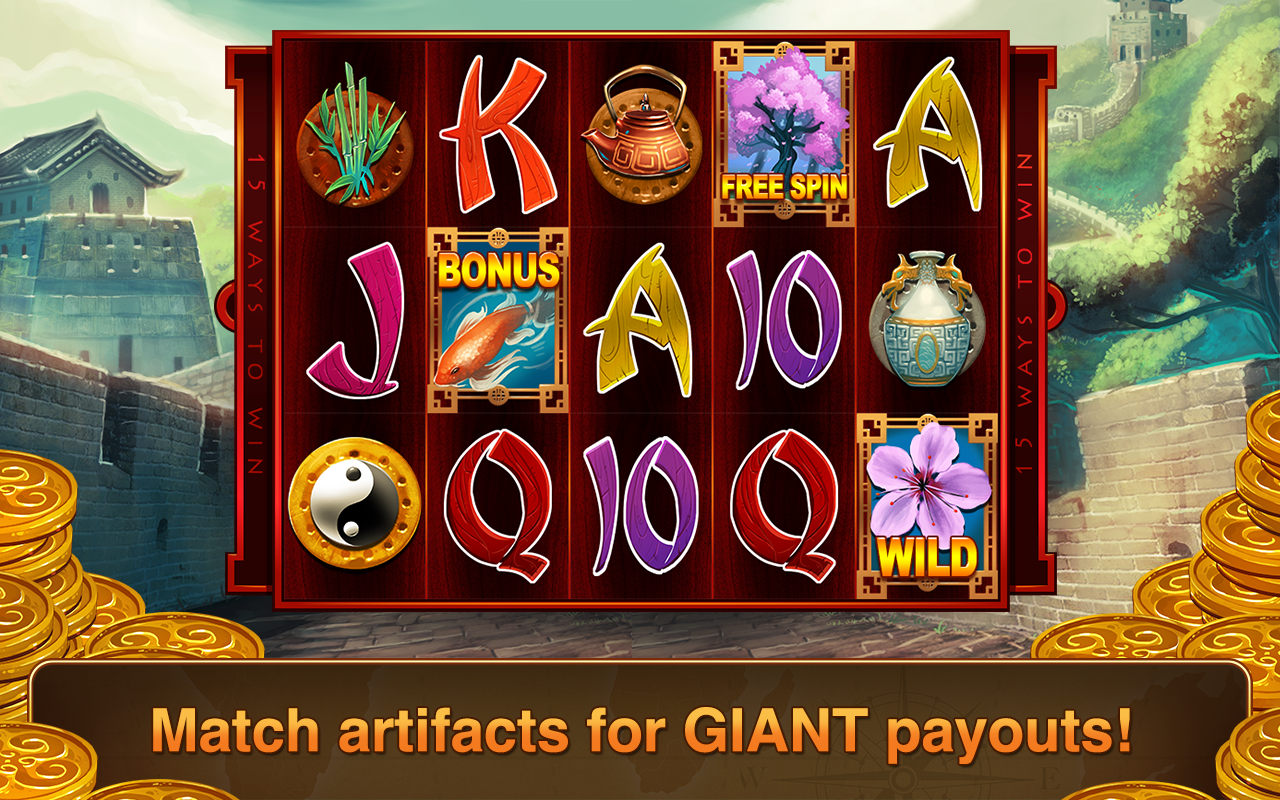 Slots Lost Treasure Slot Games- screenshot