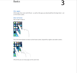 iPhone User Guide For iOS 7