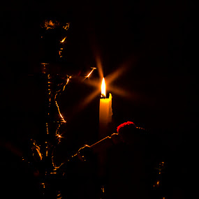 smoke by candle by Hilton Viney - Artistic Objects Antiques ( canon, candle, eos, hubly, dark, 600d, stunning, light, soft )