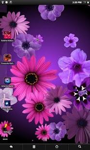 Flowers LWP Pro screenshot