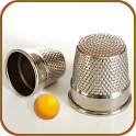 Three thimble icon