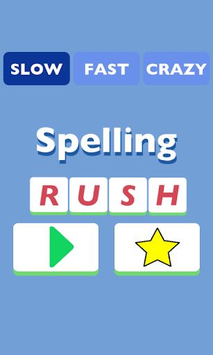 Spelling Rush - 拼写拉什