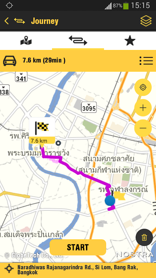 NOSTRA Map Thailand - screenshot