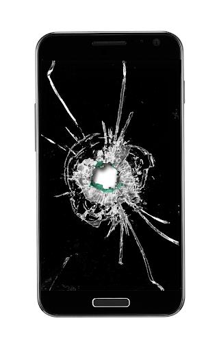 Transparent Bullet Hole
