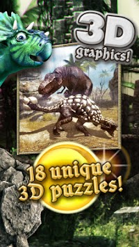 Dino hunters puzzles for kids apk screenshot