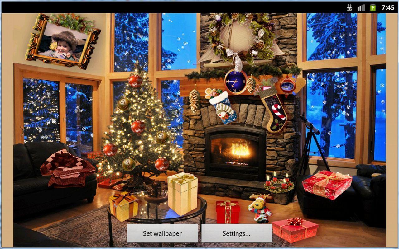 christmas live wallpaper full version apk download christmas live