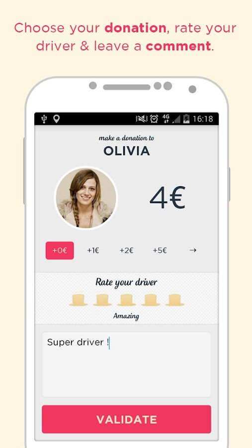 Djump: Social Ridesharing- screenshot
