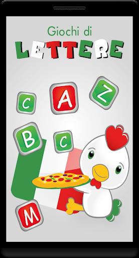 Giochi di lettere in italiano