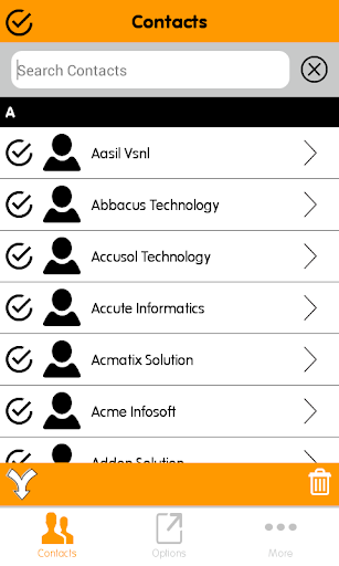 eContacts : Phonebook Backup
