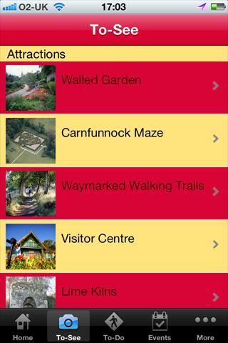 Carnfunnock Country Park- screenshot