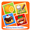 Memory Games For Kids Free icon