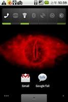 Screenshot of Eye of Sauron live wallpaper