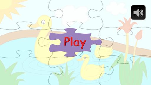 Kid's Pond Jigsaw Puzzle