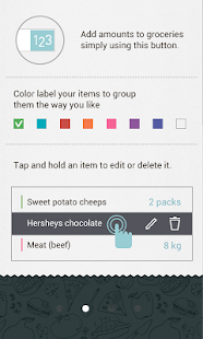 Grocery List Buy Me a Pie! Screenshot 4
