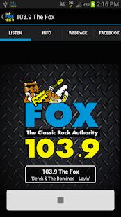 103.9 The Fox - screenshot thumbnail