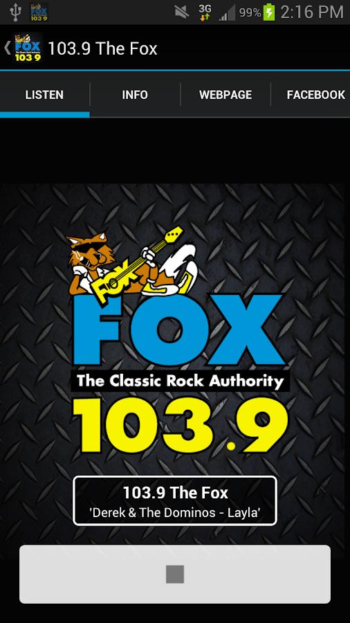 103.9 The Fox - screenshot