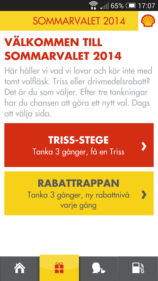 Shell Sverige- screenshot