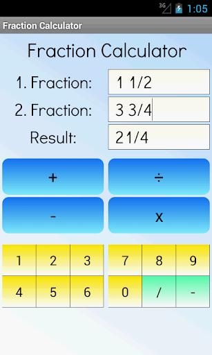分数计算器|玩教育App免費|玩APPs