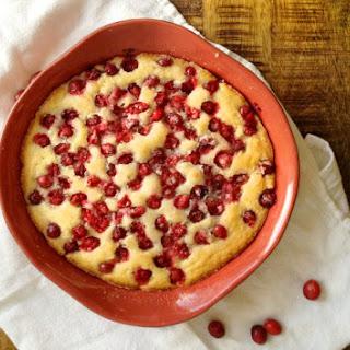 Cranberry Buttermilk Cake.