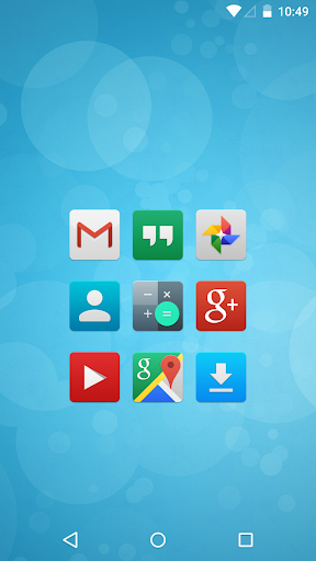 FlatCons White Icon Pack - Android Apps on Google Play